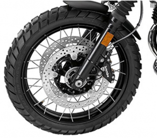 BMW Cross-spoked wheels (front) R Nine T Scrambler (K23)