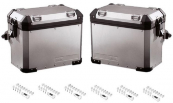 BMW Codeable Aluminum Side Panniers Set for F800GS / Adventure / F650GS (twin)
