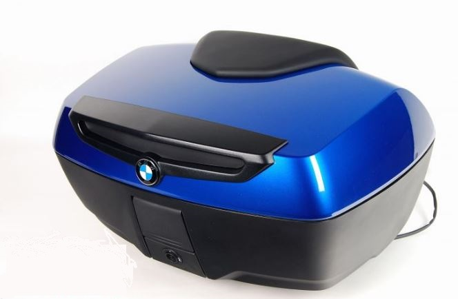 BMW fully featured top case in Lupinblau metallic for K1600GT, K1600GTL, R1200RT, R1250RT