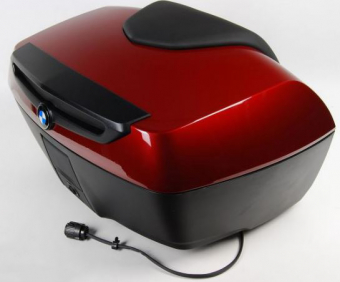 BMW Touring Topcase for K1600GT (K48) in Red metallic