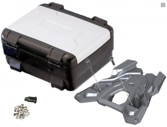 BMW: Vario Top Case set for BMW R1200GS 2013 (K50) with code-able locks