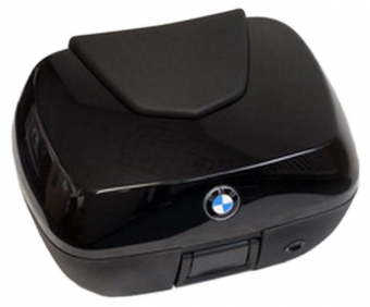 BMW top case 49 liter for R1200RT, K1200GT and K1300GT, color sapphire black