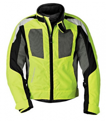 BMW Motorcycle Jacket Airshell for men (yellow)