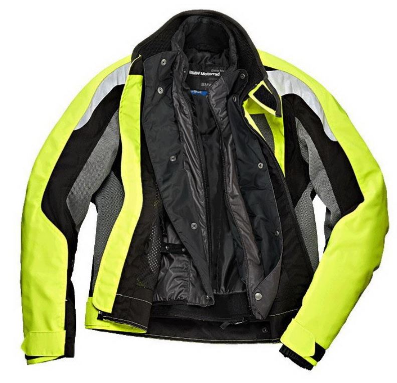 Bmw Motorcycle Jacket Airshell For Men Yellow