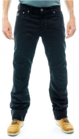 BMW men's five pocket motorcycle pants in black