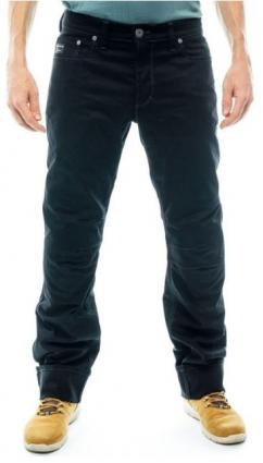 BMW men's five pocket motorcycle pants in black