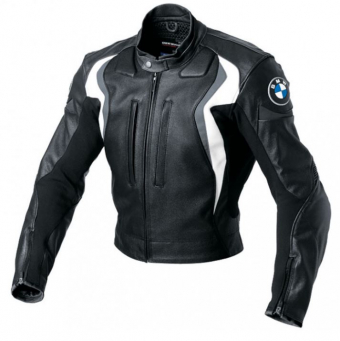 BMW Start motorcycle jacket for men in black and grey