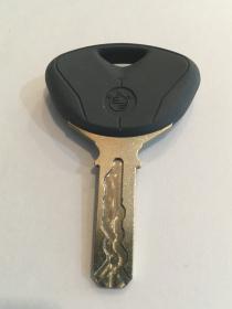 BMW metal ignition key