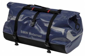 BMW motorcycle luggage roll