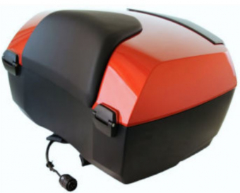 BMW Touring top case in Sakhir orange for K1600GT, K1600GTL, R1200RT, R1250RT