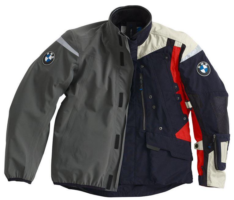 Bmw Rallye 2018 Motorcycle Jacket For Men Dark Blue Red